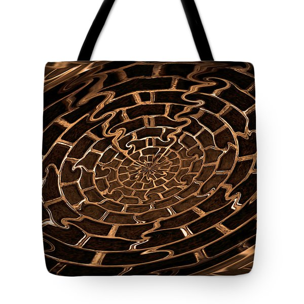 Complicated Journey Tote Bag by Kristin Elmquist