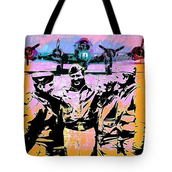 Comradeship Tote Bag by Gary Grayson