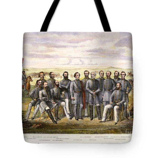 Confederate Generals Tote Bag by Granger