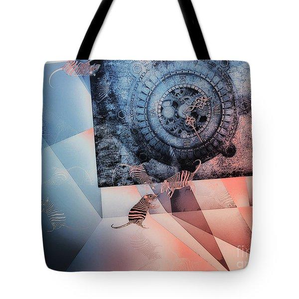 Confusion Tote Bag by Jutta Maria Pusl