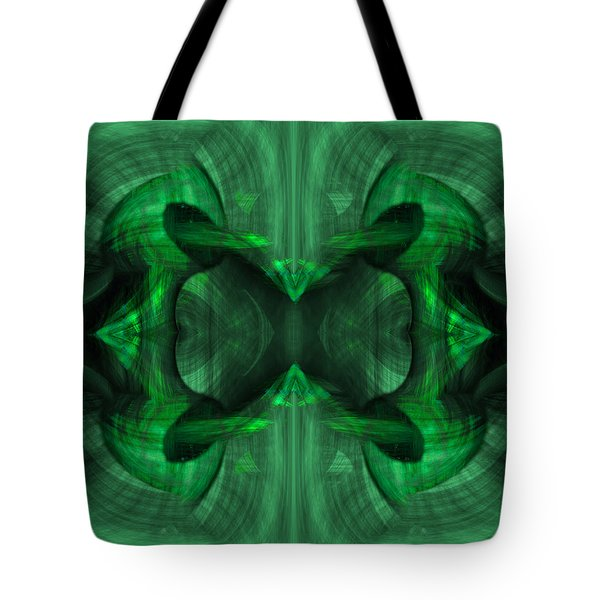Conjoint - Emerald Tote Bag by Christopher Gaston