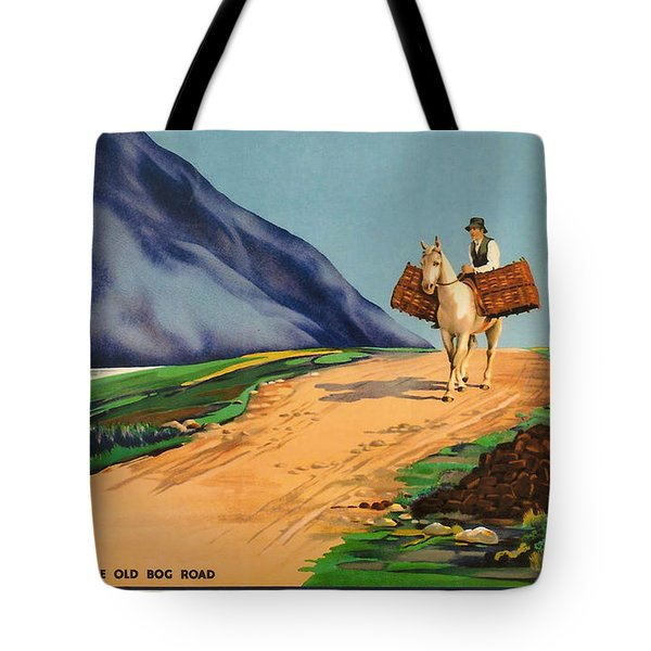 Connemara - Ireland Tote Bag by Nomad Art And  Design