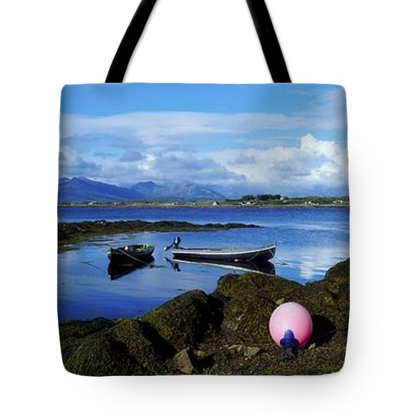 Connemara From Roundstone, Twelve Bens Tote Bag by The Irish Image Collection