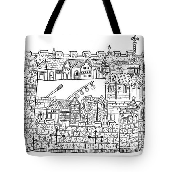 Constantinople, Procession At City Tote Bag by Photo Researchers
