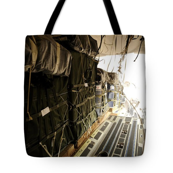 Container Delivery System Bundles Drop Tote Bag by Stocktrek Images
