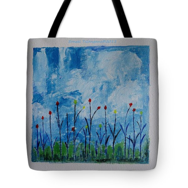 Conviction Tote Bag by Sonali Gangane