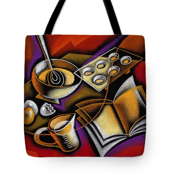 Cooking Tote Bag by Leon Zernitsky