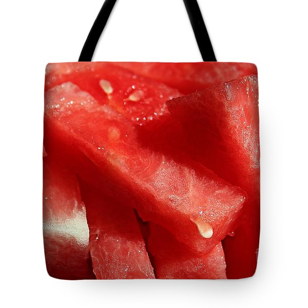 Cool Watermelon Wedges Tote Bag by Barbara Griffin