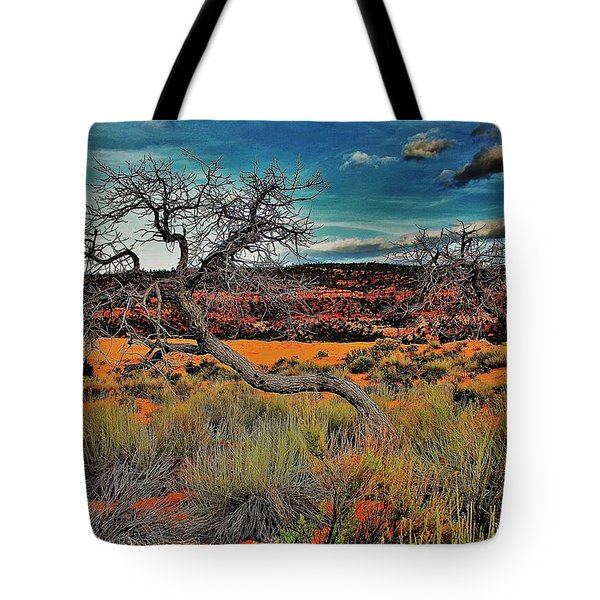 Coral Dunes Tote Bag by Benjamin Yeager