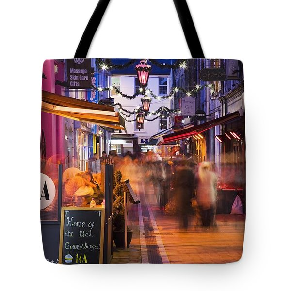 Cork, County Cork, Ireland A City Tote Bag by Peter Zoeller