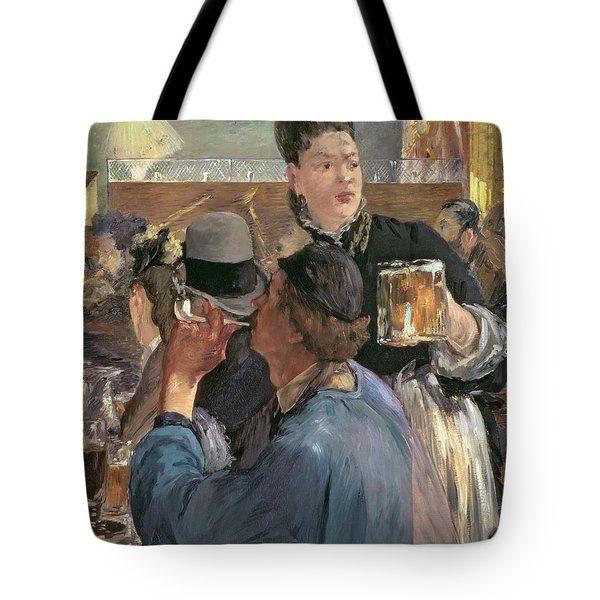 Corner Of A Cafe-concert Tote Bag by Edouard Manet