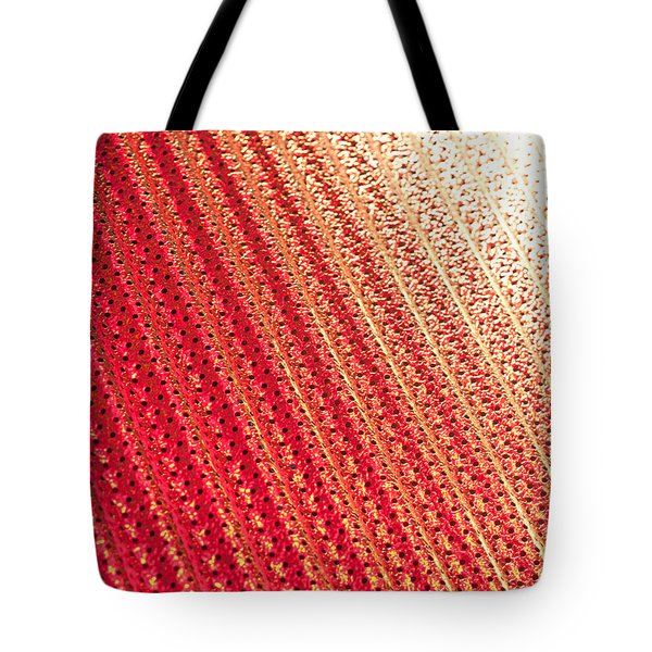 Corrugated Metal Tote Bag by Tom Gowanlock