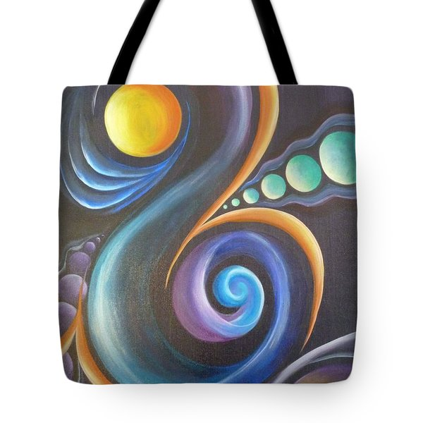 Cosmic  Tote Bag by Reina Cottier