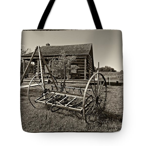 Country Classic Monochrome Tote Bag by Steve Harrington