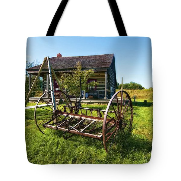 Country Classic Oil Tote Bag by Steve Harrington