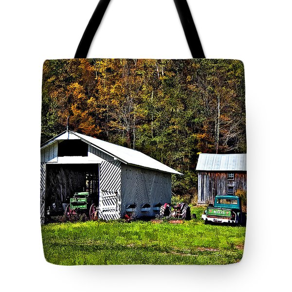 Country Life Tote Bag by Steve Harrington