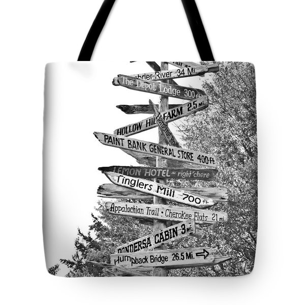 Country Places Tote Bag by Betsy C Knapp