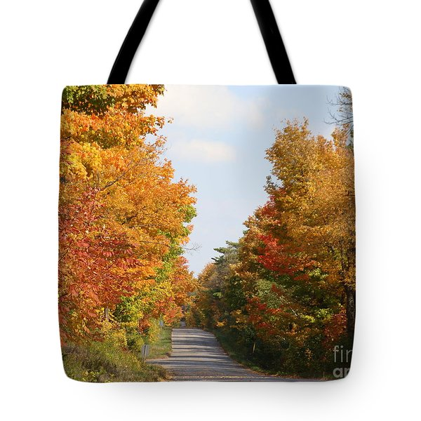 Country Road Tote Bag by Beverly Livingstone