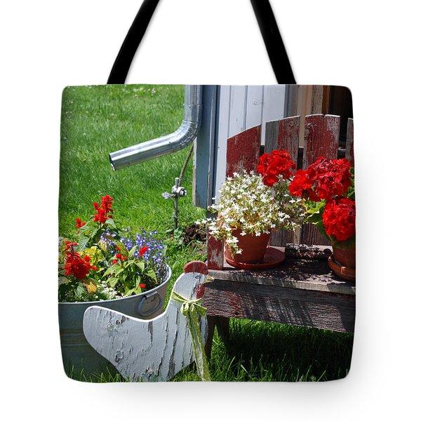 Country Side Tote Bag by Susanne Van Hulst