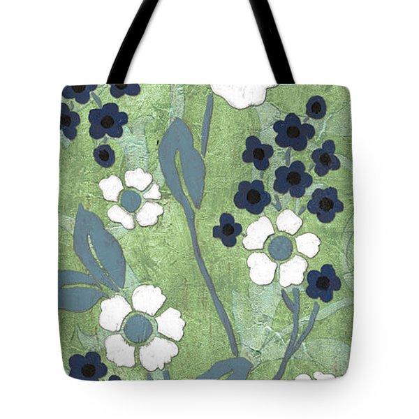 Country Spa Floral 1 Tote Bag by Debbie DeWitt