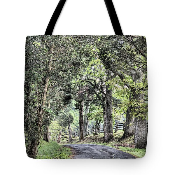 County Roads Tote Bag by JC Findley