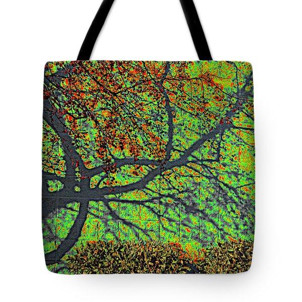 Crabapples West Acid Pop Tote Bag by Feile Case