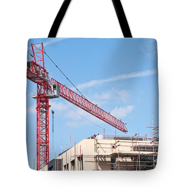 Crane Tote Bag by Tom Gowanlock
