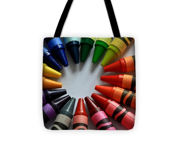 Crayola Color Tote Bag by Tracy  Hall