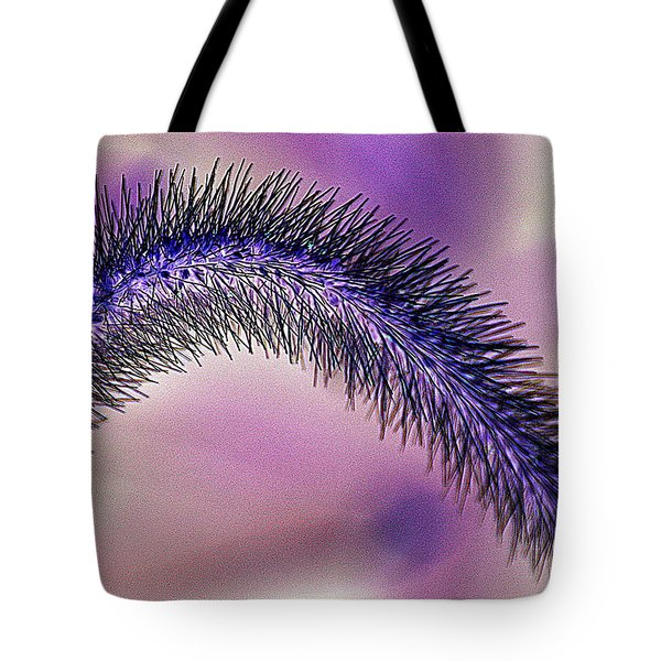 Crazy Foxtail 1 Tote Bag by Marty Koch