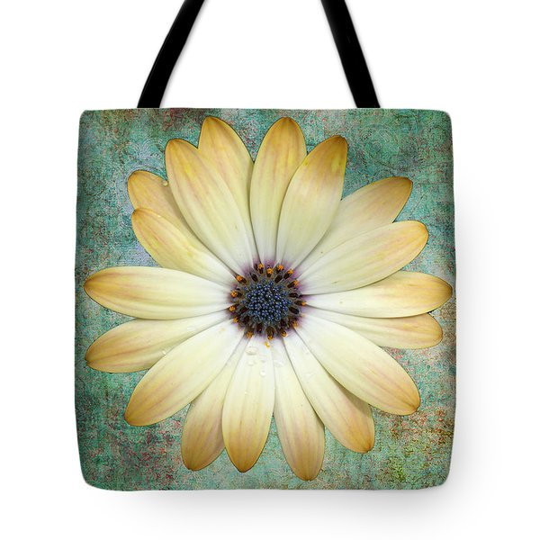 Cream Coloured Daisy Tote Bag by Chris Thaxter