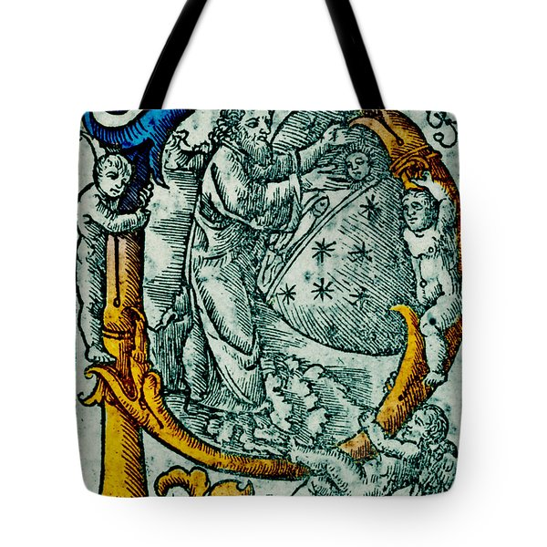 Creation Giunta Pontificale 1520 Tote Bag by Science Source