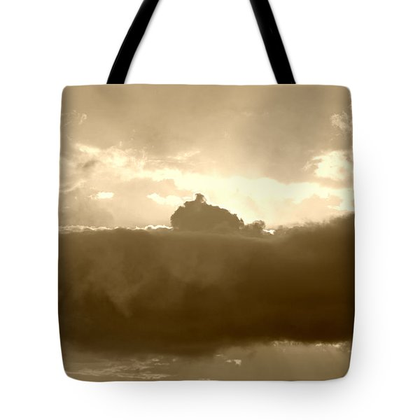 Creation In Sepia Tote Bag by Suzanne Gaff