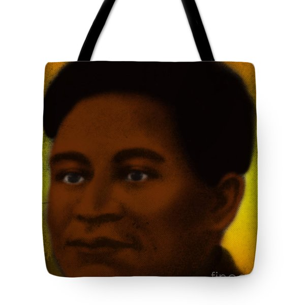 Crispus Attucks, African-american War Tote Bag by Photo Researchers