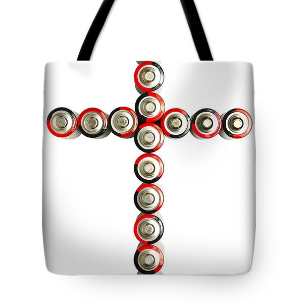 Cross Batteries 1 B Tote Bag by John Brueske
