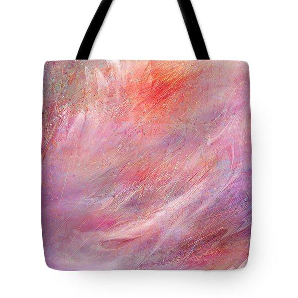 Cry Of A Bird Tote Bag by Rachel Christine Nowicki
