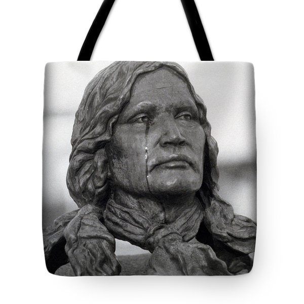 Crying Chief Niwot  Tote Bag by James BO  Insogna