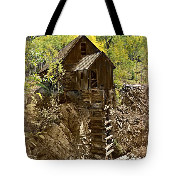 Crystal Mill 1 Tote Bag by Marty Koch