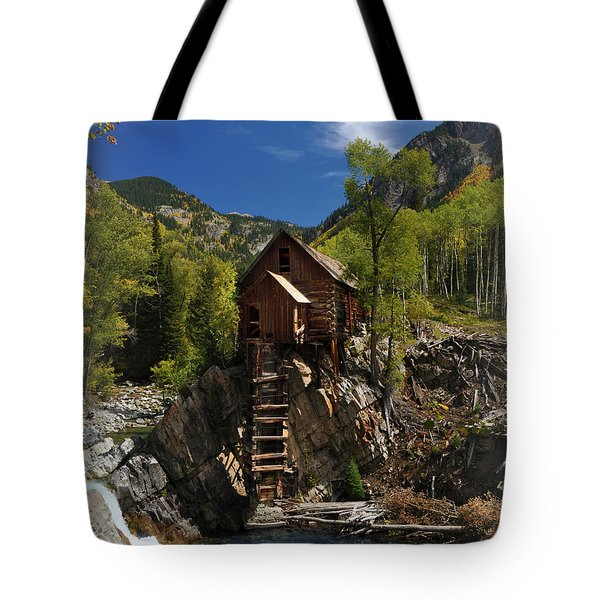 Crystal Mill 2 Tote Bag by Marty Koch