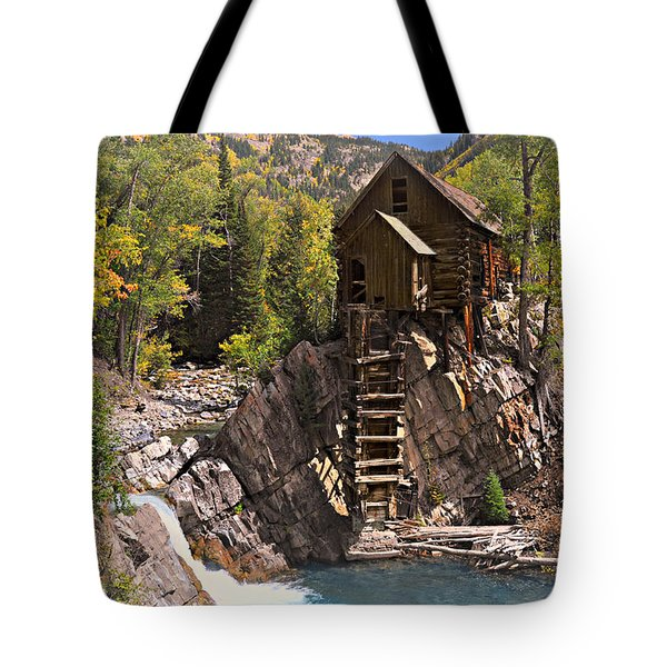 Crystal Mill 3 Tote Bag by Marty Koch