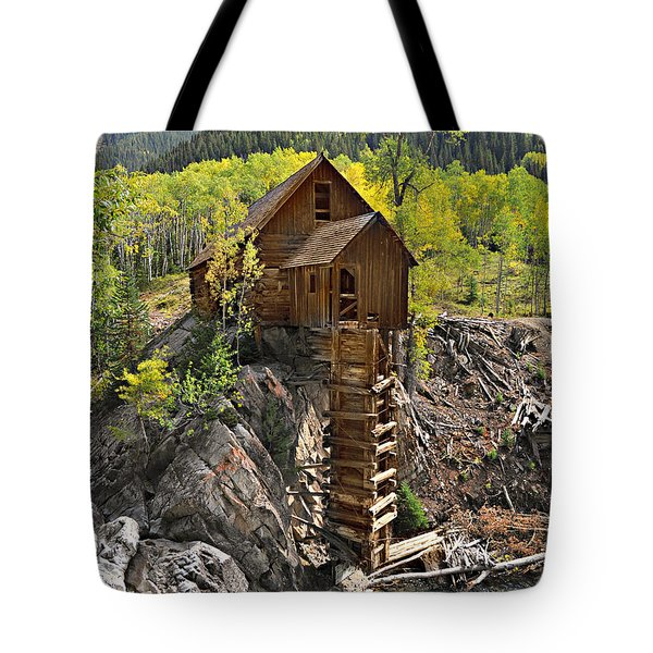 Crystal Mill 4 Tote Bag by Marty Koch