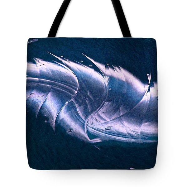 Crystalline Entity Panel 2 Tote Bag by Peter Piatt