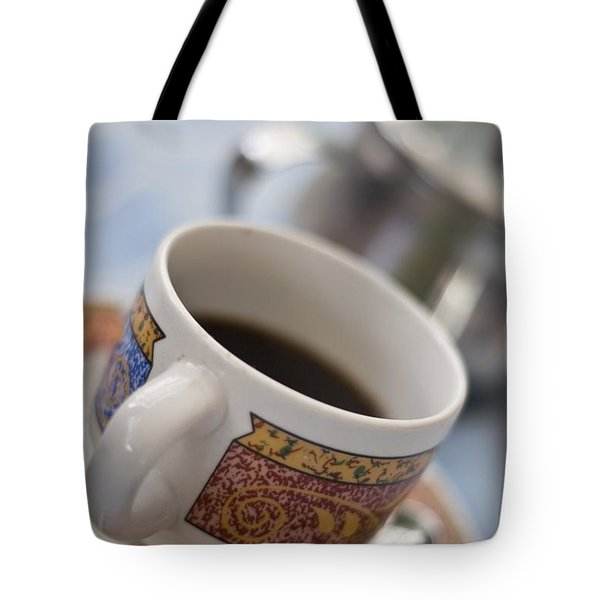 Cup Of Coffee Tote Bag by David DuChemin