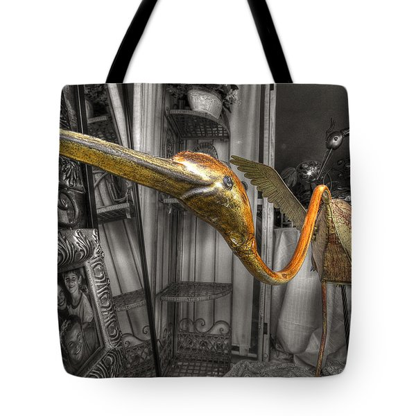 Curio Shop Window Tote Bag by John Herzog