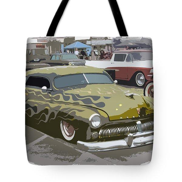 Custom Merc Tote Bag by Steve McKinzie