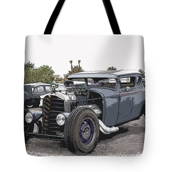 Custom Model A Coupe Tote Bag by Steve McKinzie