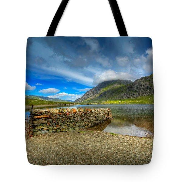 Cwm Idwal Tote Bag by Adrian Evans