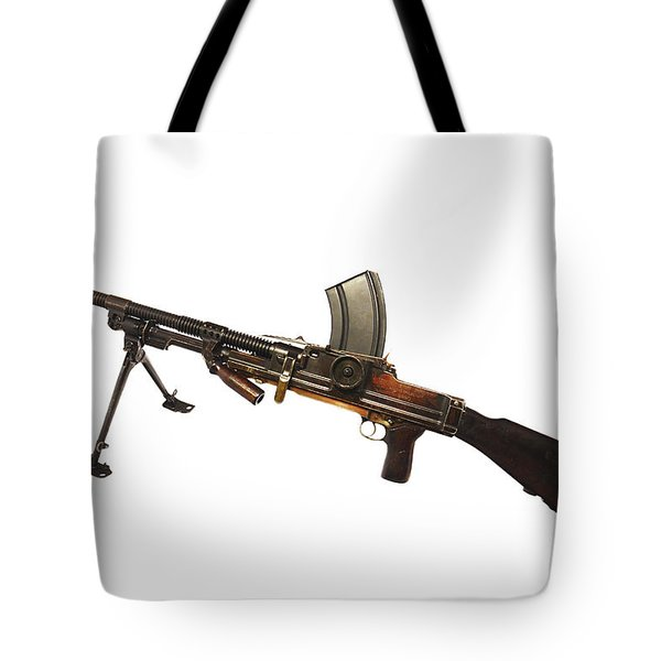 Czechoslovakian Zb Vz. 26 Light Machine Tote Bag by Andrew Chittock