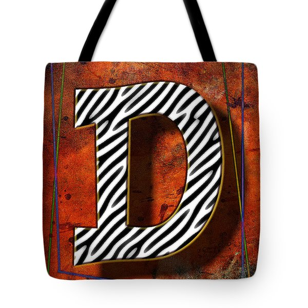D Tote Bag by Mauro Celotti