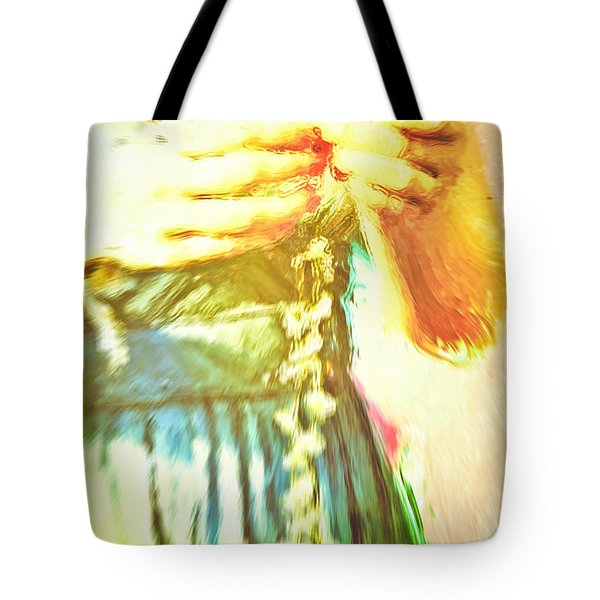 Daisy Chain Tote Bag by Tom Gowanlock