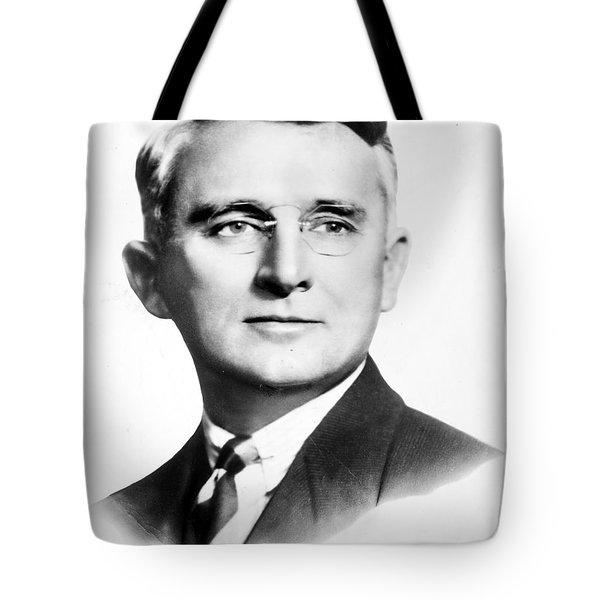 Dale Carnegie (1888-1955) Tote Bag by Granger